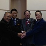 北海道剣淵町の早坂町長が応援イベントに登場